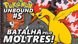 Pokémon Unbound (Detonado - Parte 5) - Batalha Pelo Moltres!