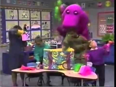 barney friends the barney bag 1995 version youtube