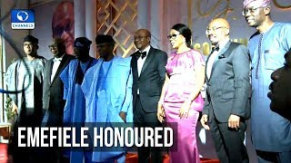 Jim Ovia Honours CBN Governor Emefiele
