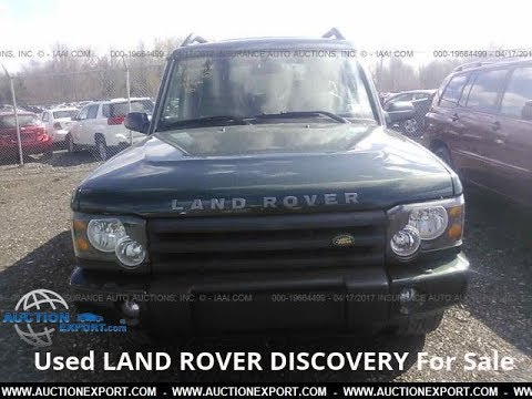Used 2004 LAND ROVER DISCOVERY For Sale in USA, Shipping to Nigeria