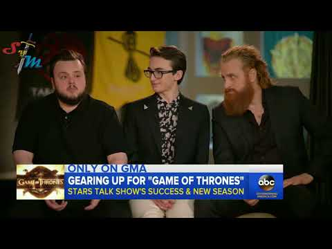 Cast Interview // Game of Thrones EXCLUSIVE