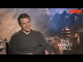 Matt Damon On Beards, Monsters, & Sad Ben Affleck | The Great Wall | FULL INTERVIEW