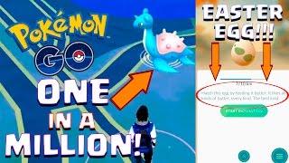 ONE IN A MILLION LAPRAS | Pokemon GO | RARE EASTER EGG DROPPED?