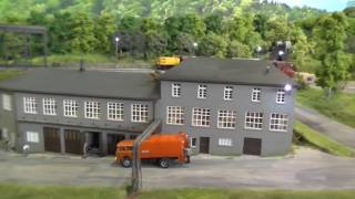 """Modellbahn H0 des """"MEC Weida"""" auf der Intermodellbau Dortmund 2017"""