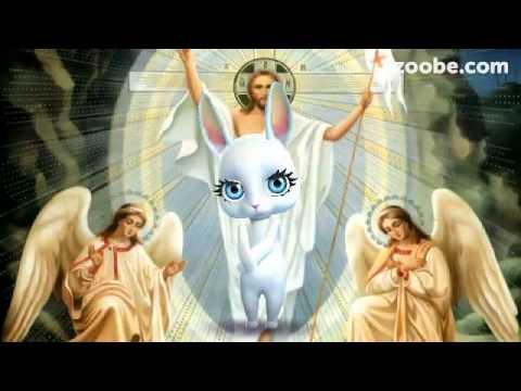 Зайка ZOOBE« Пасха- Христос воскрес,он царь миров» - Видео приколы ржачные до слез