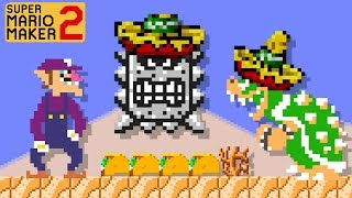 Super Mario Maker 2 - Awesome Waluigi's Taco Stand Level
