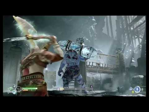 God Of War - JARN FOTR Boss Fight