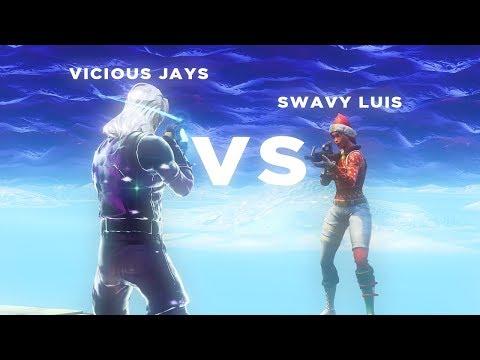 Swavy Luis VS ViciousJays (Fortnite BR)