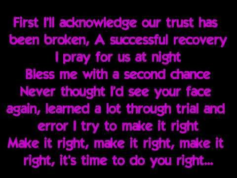 [HQ] Justin Bieber - Recovery (Lyrics on screen) [2013]