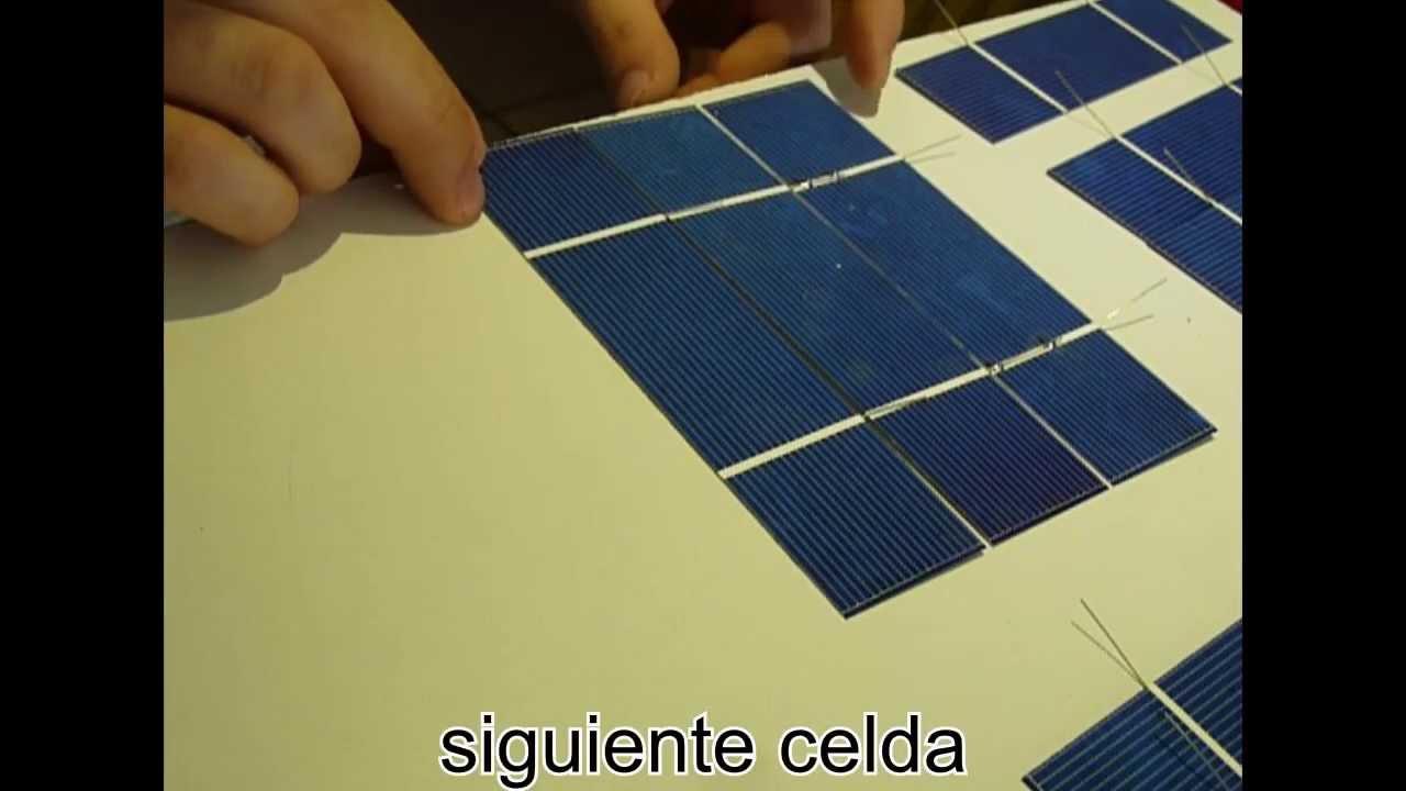 materiales para hacer un panel solar casero