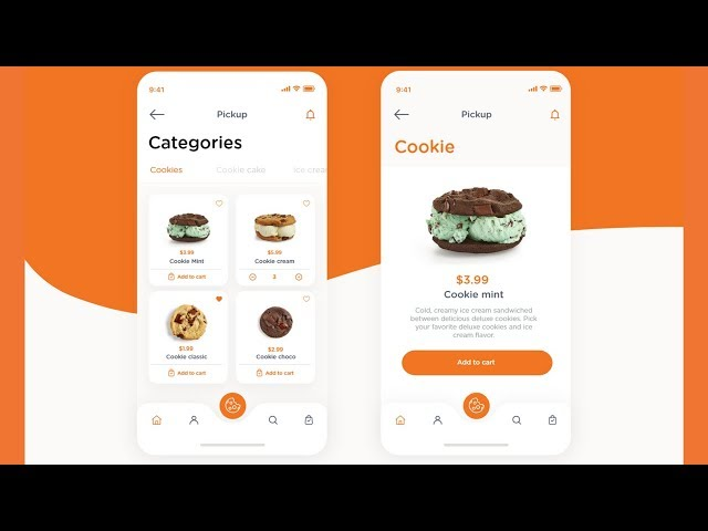 Flutter UI - Cookie Store - Speed Code