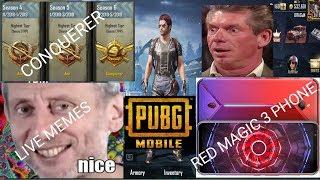 PUBG Mobile Live Stream- Red Magic 3 Phone- India Pubg Mobile Live