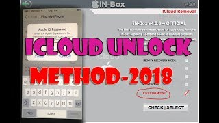 How to unlock / bypass  icloud lock Reset any ios by unlock tool in-box v4.8.0 free download