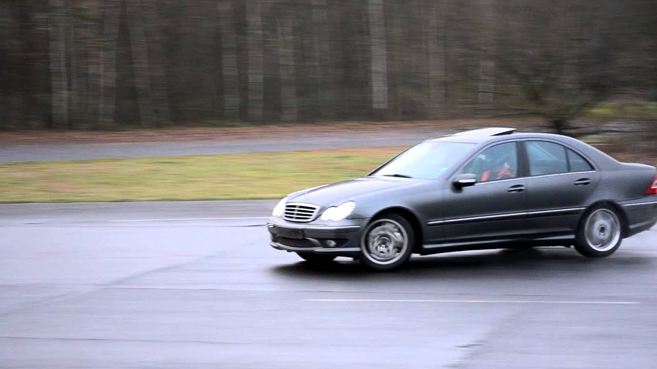 mercedes c30 amg on driftday weeze youtube. Black Bedroom Furniture Sets. Home Design Ideas