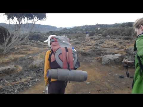 Kilimandscharo über Machame Route Teil 1