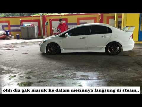 Cuci Mobil Di Car Wash And Go Serpong Tangerang Youtube
