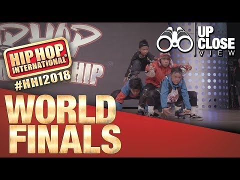 UpClose View: Awesome Junior - Thailand (Gold Medalist Junior Division) at HHI's 2018 World Finals