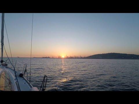 Sunset Sailing - Barcelona, Spain   GoPro HD