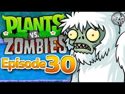 Yeti Zombie! - Plants vs. Zombies Gameplay Walkthrough - Episode 30 - New Game+! World 4!