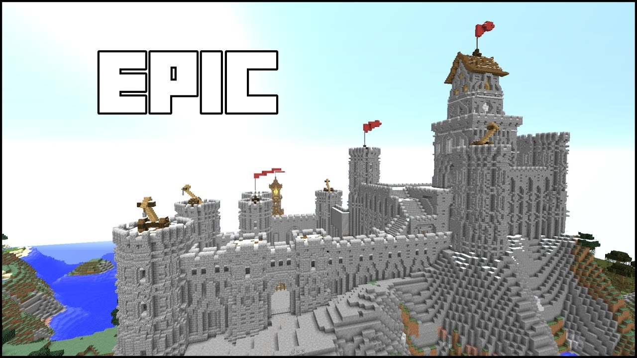 how to make a castle in minecraft