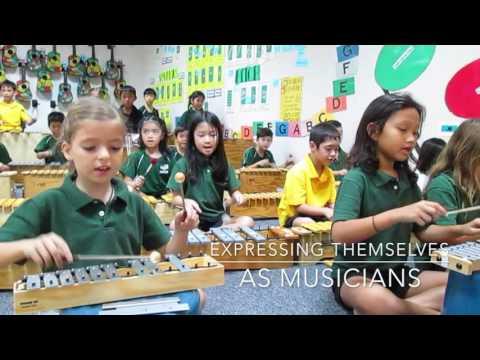 Elementary Music Team at ISManila 2016