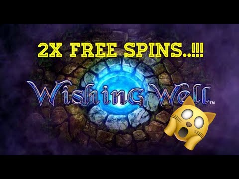 £2 Play ** WISHING WELL ** William Hill With Good Returns FREE SPINS COMING TWICE..
