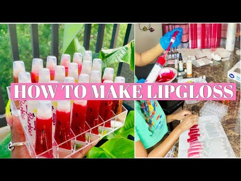 PART 2: HOW TO MAKE LIPGLOSS 💄