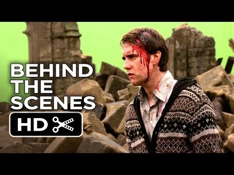 Harry Potter and the Deathly Hallows Part 2 BTS - Neville