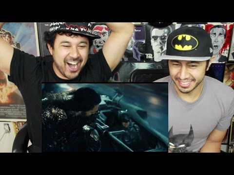 JUSTICE LEAGUE TRAILER #1 REACTION & REVIEW!!!