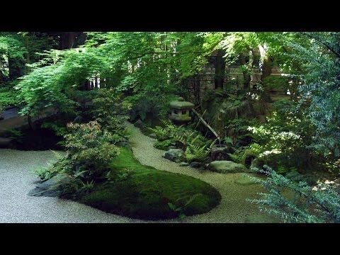 1 HOUR Japanese fountain 'Shishi-Odoshi' sound for Relaxing and Healing