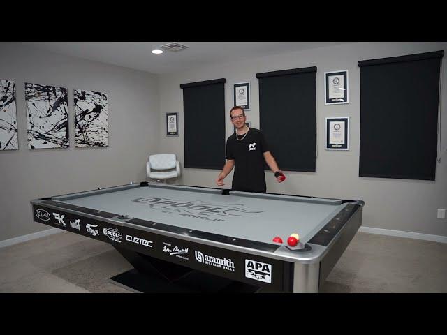 DAILY Pool Trick Shot - DAY 19 - Super Hustler Masse!! - Venom Trickshots
