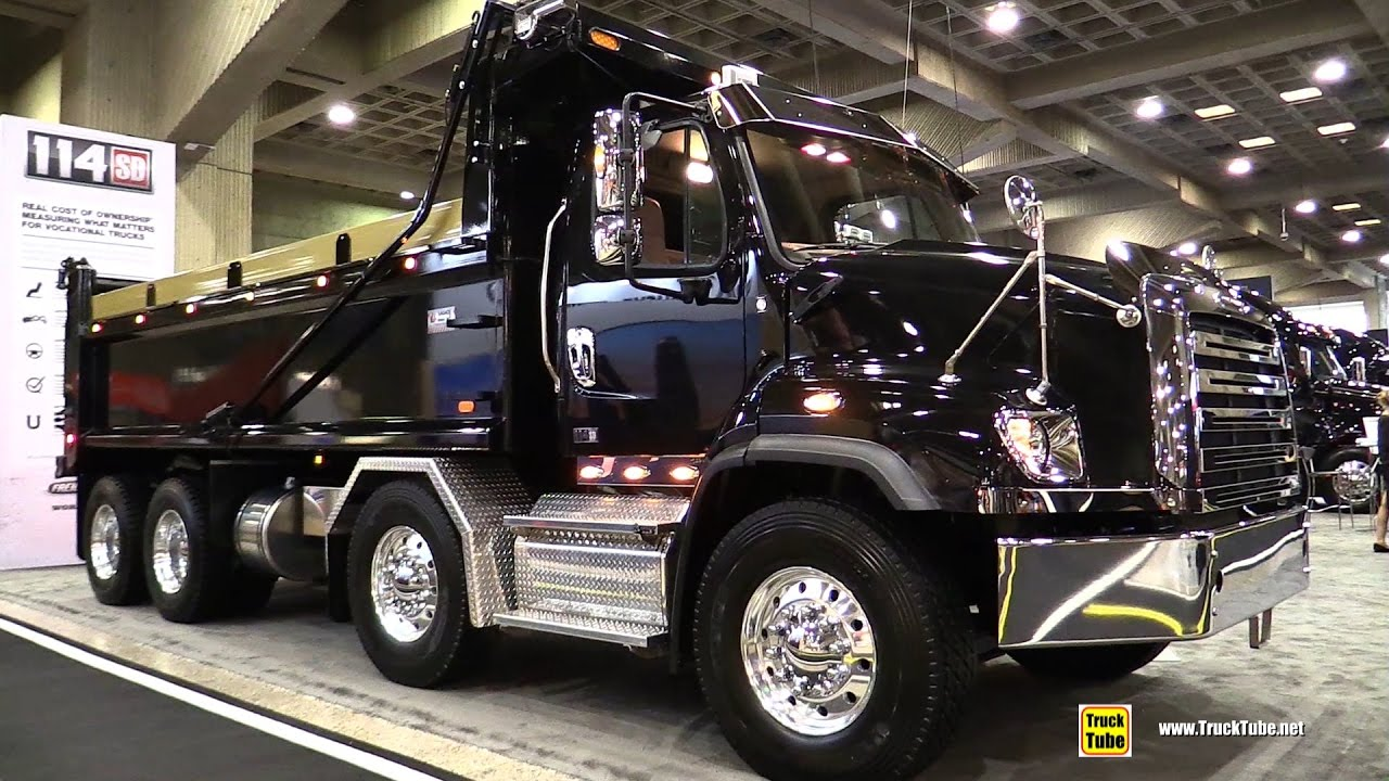 2017 Freightliner 114SD Set Back Axle Truck - Walkaround ...