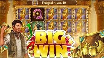 Book of Dead Freispiele | Compilation Big Win auf kleinem Einsatz