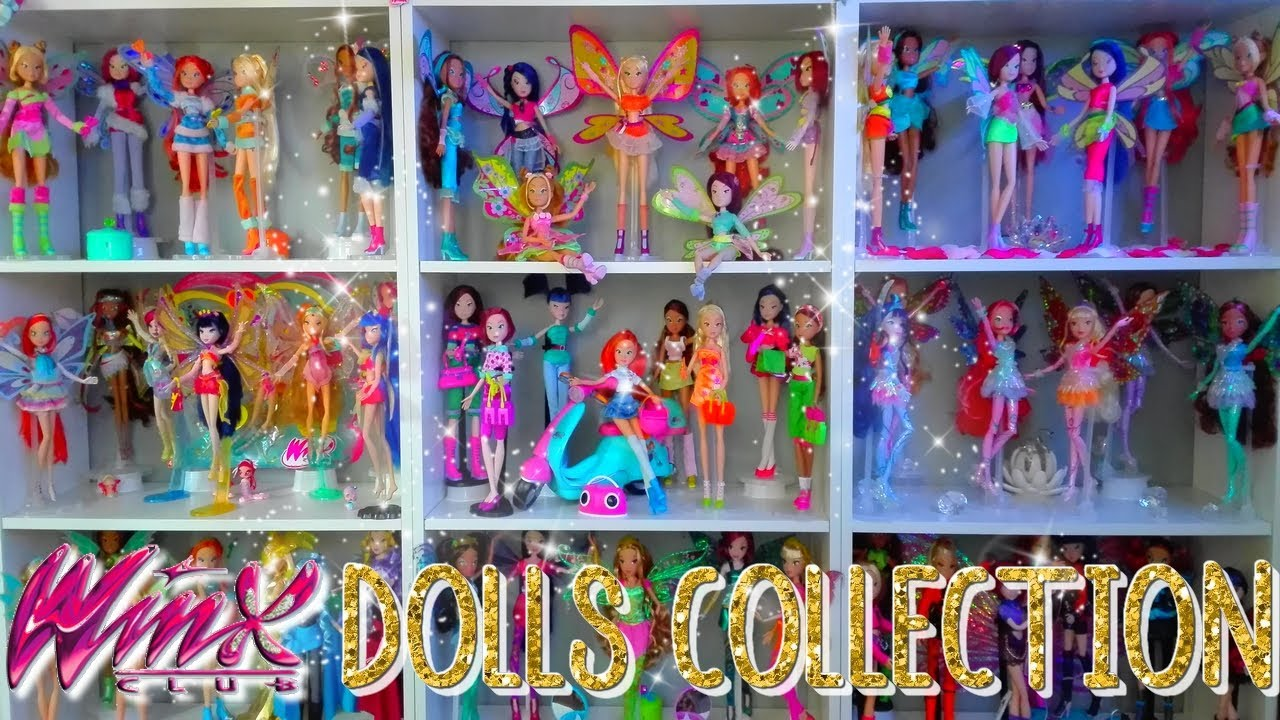 Winx Club Doll Collection Update 2017 Youtube