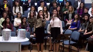 1 Februarie 2015 Cantare Bianca &amp Diana Cernisov - Mai lasa-ma Doamne inca un an