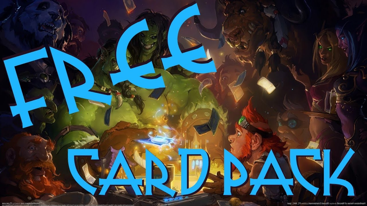 Hearthstone Free Booster Card Pack (LIMITED TIME PROMO)