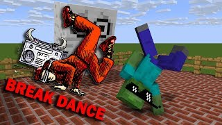 Monster School : BREAK DANCE CHALLENGE - Minecraft Animation
