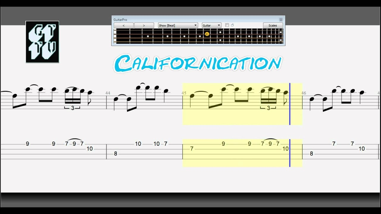 Learn how to play Californication on guitar - Yousician