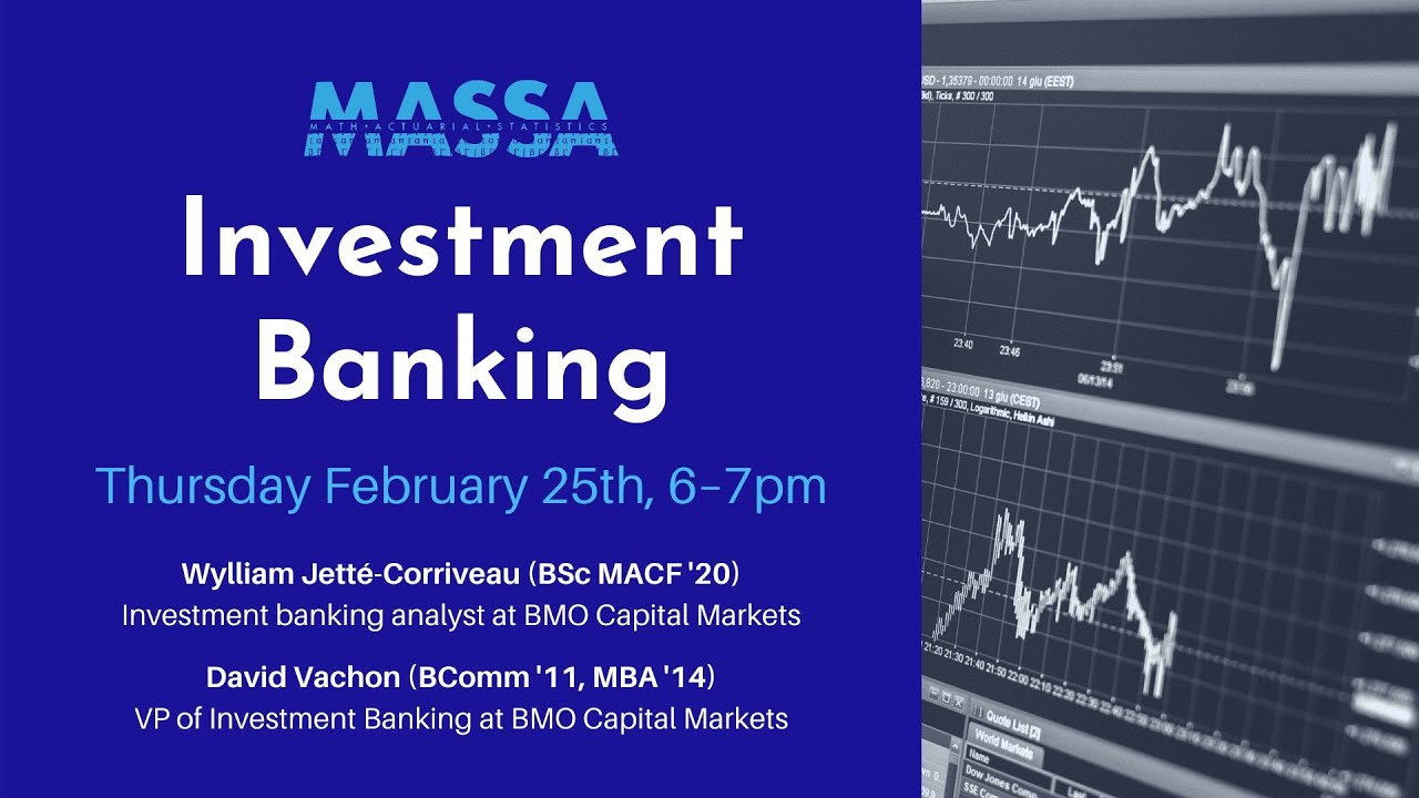 MASSA Webinar: Investment Banking