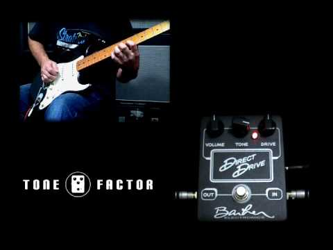 Barber Direct Drive Overdrive Distortion Demo
