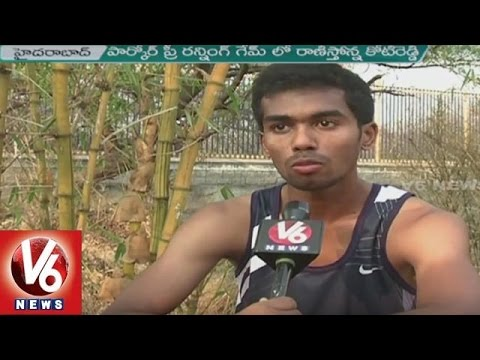 Hyderabad Youth Trains Parkour And Free Running Games At KBR Park | V6 News