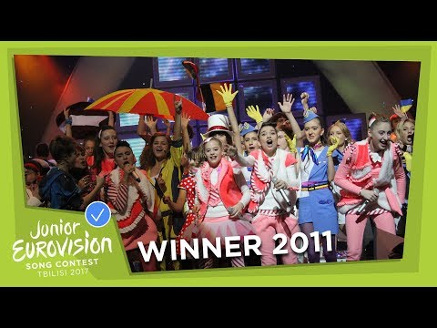 JUNIOR EUROVISION 2011: CANDY - CANDY MUSIC - GEORGIA 🇬🇪  - WINNER