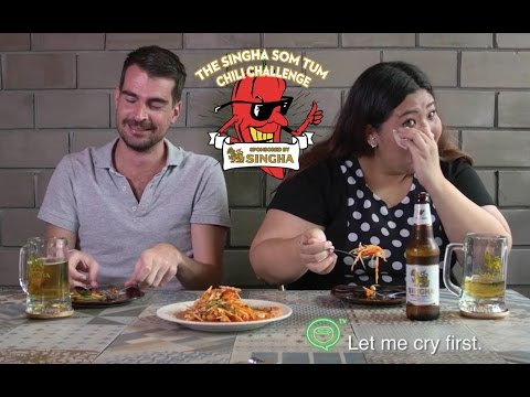 The Singha Som Tum Chili Challenge | Coconuts TV