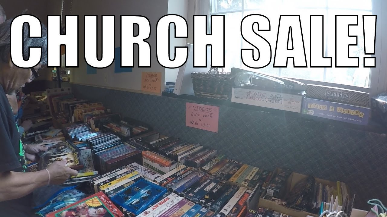 Rummage Sale Madness! Two Church Sales in ONE day!