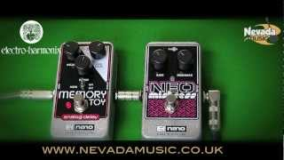 EHX Electro Harmonix Neo Mistress Flanger Guitar Effects Pedal Demo - Nevada Music UK
