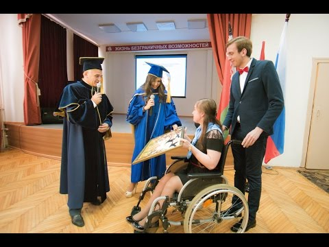 Leyla Aliyeva is presented a diploma of professor emeritus of the MSUHE
