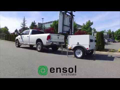 Ensol Systems Video Surveillance Trailer
