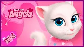 Кошка Анжела. ГОВОРЯЩАЯ АНДЖЕЛА и ДРУЗЬЯ - мультик для девочек. Игровой Мультик Видео Детям.