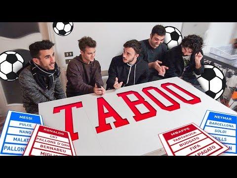 TABOO CHALLENGE CON I CALCIATORI! w/ Fius Gamer, Ohm, T4tino23