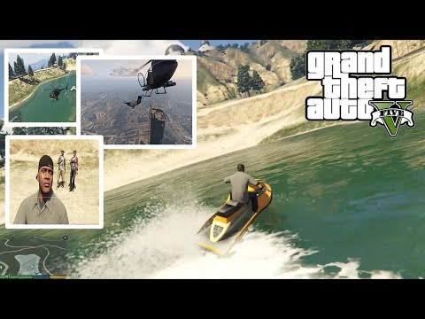 Gta 5 visiting most beautiful places in the map grand theft auto v gta v